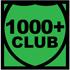 1000+ Club